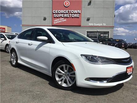 2016 Chrysler 200 Limited | HTD SEATS/WHEEL | BACK UP CAM | (Stk: SR19167A) in Georgetown - Image 2 of 29