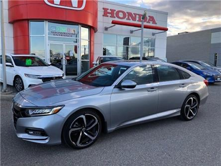 2019 Honda Accord Sport 1.5T (Stk: K1193) in Georgetown - Image 1 of 11