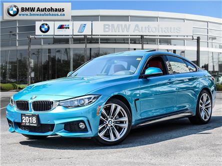 2018 BMW 440i xDrive Gran Coupe  (Stk: P8955) in Thornhill - Image 1 of 33
