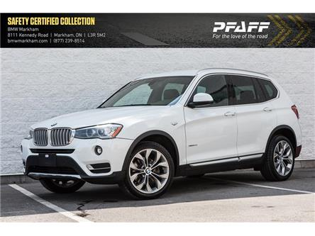 2017 BMW X3 xDrive28i (Stk: 38022A) in Markham - Image 1 of 18