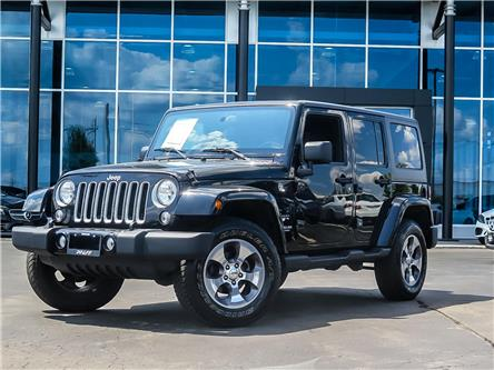 2017 Jeep Wrangler Unlimited Sahara (Stk: K3872) in Kitchener - Image 1 of 26