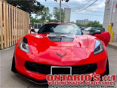 2017 Chevrolet Corvette Z06 3LZ WITH Z07 PERFORMANCE PACKAGE FULLY FULLY L (Stk: P1907) in Toronto - Image 1 of 15