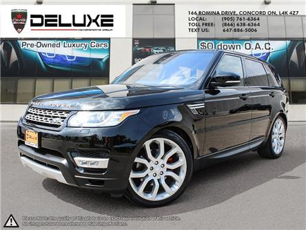 2016 Land Rover Range Rover Sport DIESEL Td6 HSE (Stk: D0619) in Concord - Image 1 of 26