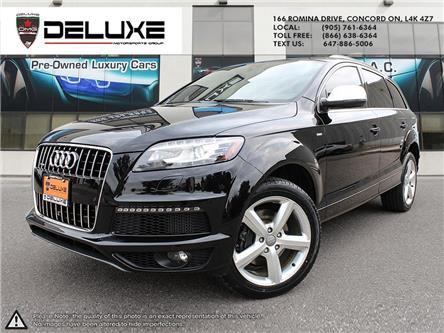 2015 Audi Q7 3.0 TDI Vorsprung Edition (Stk: D0625) in Concord - Image 1 of 22