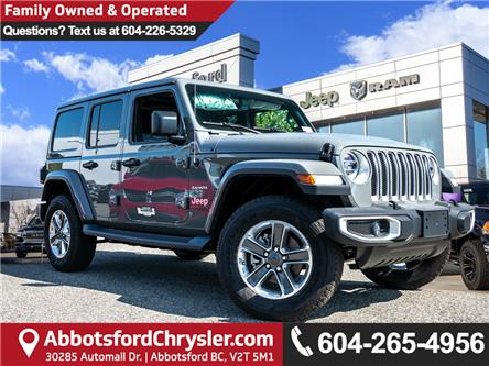 2019 Jeep Wrangler Unlimited Sahara (Stk: K628821) in Abbotsford - Image 1 of 23