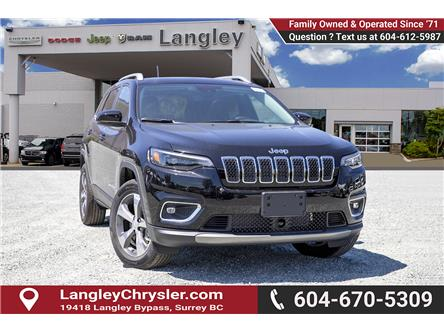 2019 Jeep Cherokee Limited (Stk: K467256) in Surrey - Image 1 of 23