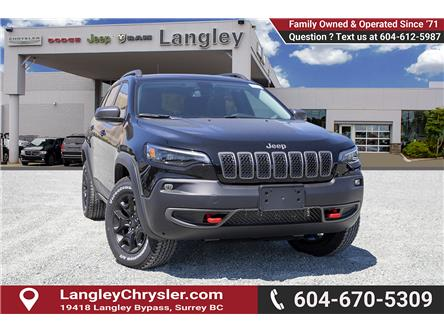 2019 Jeep Cherokee Trailhawk (Stk: K479989) in Surrey - Image 1 of 27