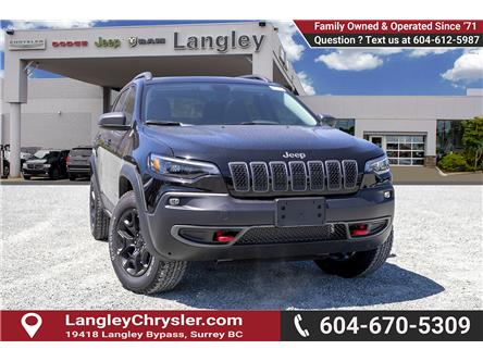 2019 Jeep Cherokee Trailhawk (Stk: K480210) in Surrey - Image 1 of 27