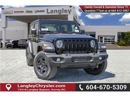 2019 Jeep Wrangler Sport (Stk: K633076) in Surrey - Image 1 of 22