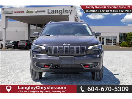 2019 Jeep Cherokee Trailhawk (Stk: K483240) in Surrey - Image 2 of 25