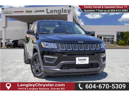 2019 Jeep Compass Sport (Stk: K762767) in Surrey - Image 1 of 24