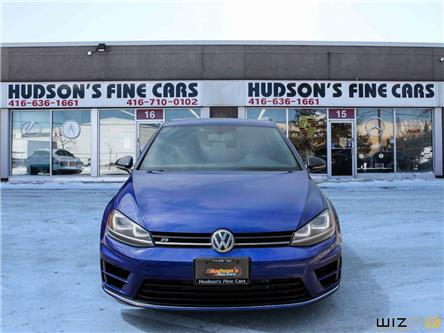 2016 Volkswagen Golf R 2.0 TSI (Stk: 02870) in Toronto - Image 2 of 30