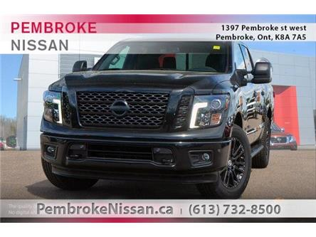 2019 Nissan Titan SV Midnight Edition (Stk: 19250) in Pembroke - Image 1 of 20