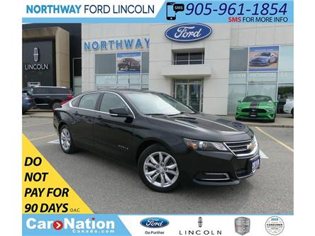 2018 Chevrolet Impala LT | PUSH START | BACKUP CAM | REMOTE START | (Stk: DR332) in Brantford - Image 1 of 41