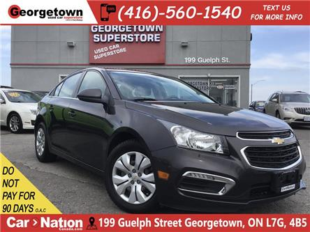 2016 Chevrolet Cruze LT 1LT | BACK UP CAM | BLUETOOTH | 1.4L | (Stk: P12345A) in Georgetown - Image 1 of 24