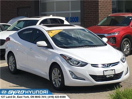 2015 Hyundai Elantra Sport Appearance (Stk: H4595) in Toronto - Image 1 of 28