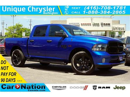 2019 RAM 1500 Classic EXPRESS NIGHT EDITION| 20in WHEELS| APPLE CARPLAY (Stk: K559A) in Burlington - Image 1 of 45