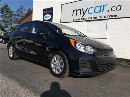 2016 Kia Rio LX (Stk: 191033) in Kingston - Image 1 of 19