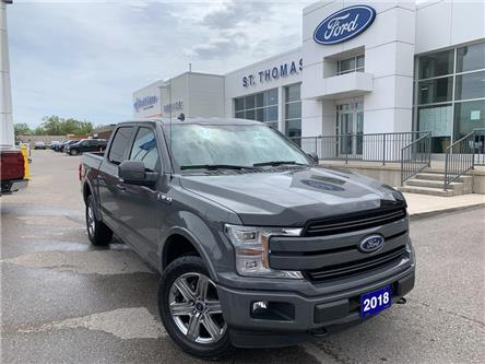 2018 Ford F-150  (Stk: T9296A) in St. Thomas - Image 1 of 30