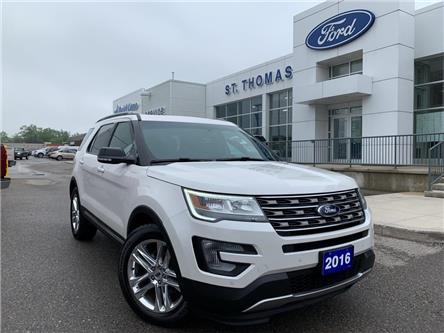 2016 Ford Explorer XLT (Stk: A6821A) in St. Thomas - Image 1 of 30