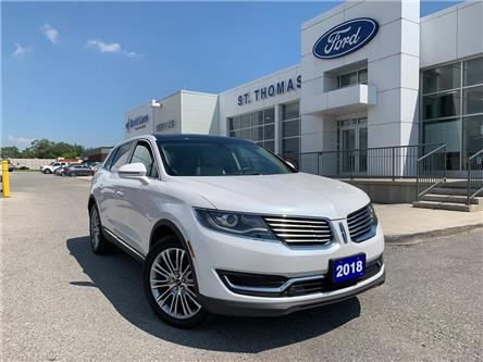 2018 Lincoln MKX Reserve (Stk: T9454A) in St. Thomas - Image 1 of 28