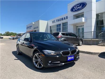 2014 BMW 320i xDrive (Stk: T9432A) in St. Thomas - Image 1 of 25