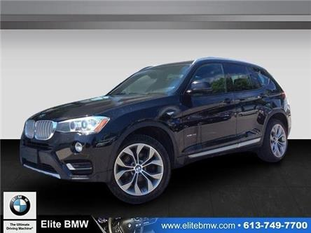 2017 BMW X3 xDrive35i (Stk: P9162) in Gloucester - Image 1 of 24