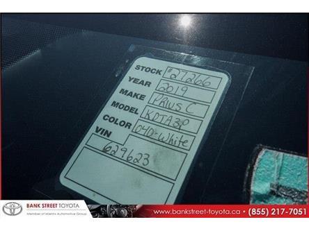 2019 Toyota Prius C Upgrade (Stk: 27266) in Ottawa - Image 2 of 2