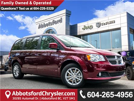 2019 Dodge Grand Caravan CVP/SXT (Stk: K740451) in Abbotsford - Image 1 of 25
