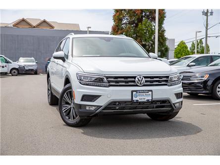 2019 Volkswagen Tiguan Highline (Stk: KT006802) in Vancouver - Image 1 of 27