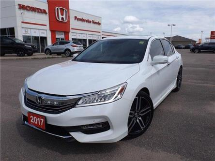 2017 Honda Accord Touring (Stk: P7418) in Pembroke - Image 1 of 27