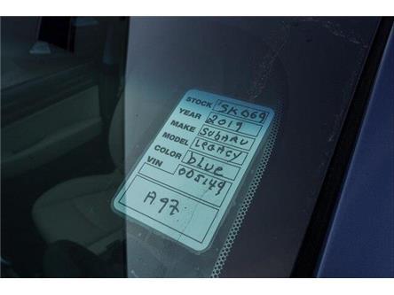 2019 Subaru Legacy 3.6R Limited w/EyeSight Package (Stk: SK069) in Ottawa - Image 2 of 2