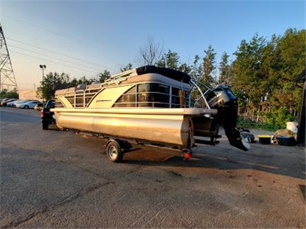 2013 LEGEND PLATINUM PONTOON BOAT PLATINUM (Stk: 5737) in Stittsville - Image 1 of 22