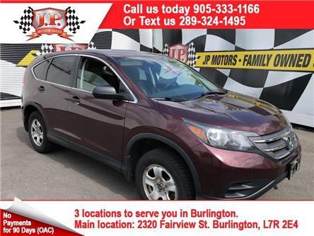 2013 Honda CR-V LX (Stk: 47529) in Burlington - Image 1 of 14