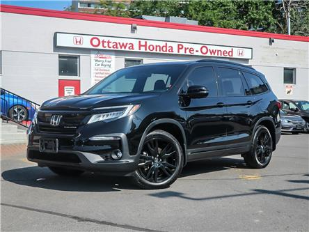 2019 Honda Pilot Black Edition (Stk: 31476-1) in Ottawa - Image 1 of 28