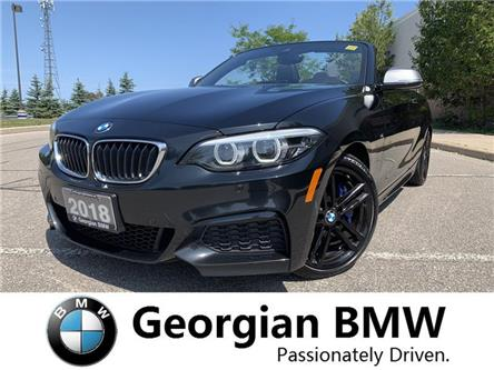 2018 BMW M240i xDrive (Stk: P1534) in Barrie - Image 1 of 21