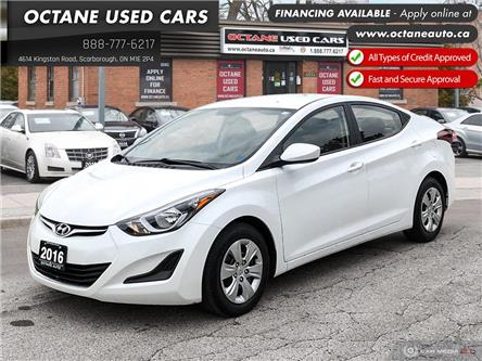 2016 Hyundai Elantra L+ (Stk: ) in Scarborough - Image 1 of 23