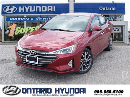 2020 Hyundai Elantra Luxury (Stk: 906354) in Whitby - Image 1 of 21