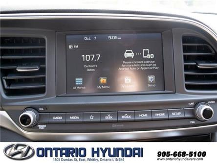 2020 Hyundai Elantra Preferred w/Sun & Safety Package (Stk: 920851) in Whitby - Image 2 of 17