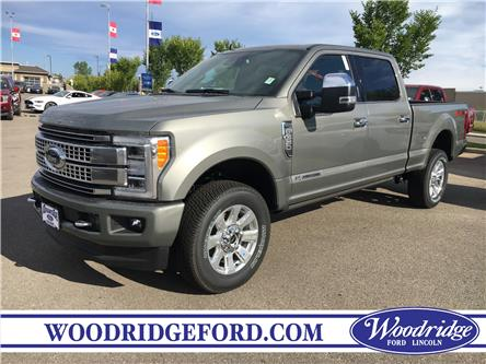 2019 Ford F-350 Platinum (Stk: K-2047) in Calgary - Image 1 of 6
