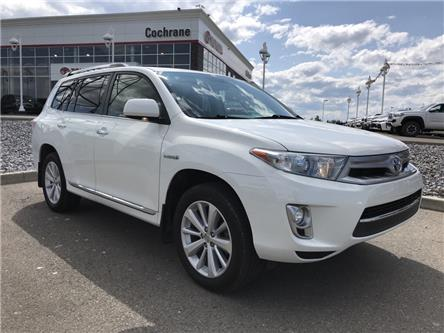 2013 Toyota Highlander Hybrid Limited (Stk: 2896) in Cochrane - Image 1 of 15