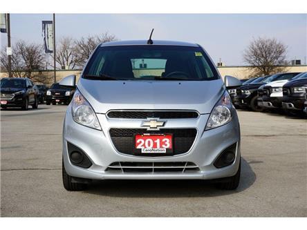 2013 Chevrolet Spark LS| ONSTAR| 10 AIRBAGS| ALLOY WHEELS & MORE (Stk: K570B) in Burlington - Image 2 of 42