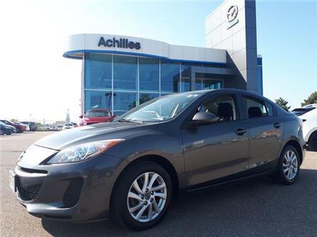 2013 Mazda Mazda3 GS-SKY (Stk: B8039A) in Milton - Image 1 of 10