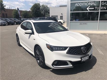 2019 Acura TLX Tech A-Spec (Stk: -) in Brampton - Image 1 of 11