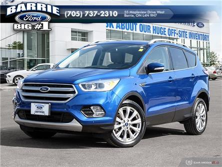 2018 Ford Escape Titanium (Stk: 6384) in Barrie - Image 1 of 27