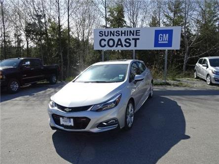 2018 Chevrolet Cruze LT Auto (Stk: EJ525403) in Sechelt - Image 1 of 19