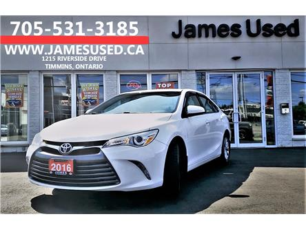 2016 Toyota Camry LE (Stk: N19344A) in Timmins - Image 1 of 14