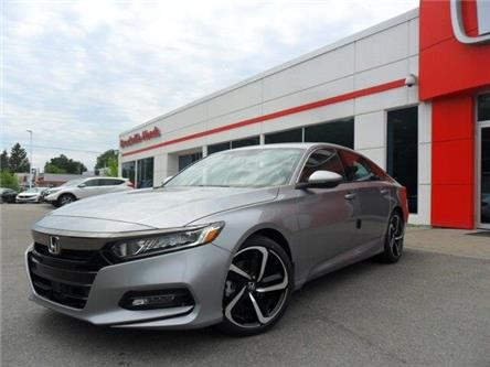 2019 Honda Accord Sport 1.5T (Stk: 10318) in Brockville - Image 1 of 18
