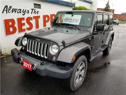 2017 Jeep Wrangler Unlimited Sahara (Stk: 19-504) in Oshawa - Image 1 of 14