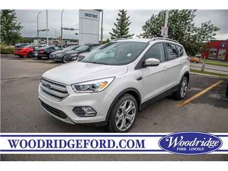 2019 Ford Escape Titanium (Stk: K-1231) in Calgary - Image 1 of 5